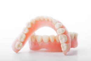 Upper and lower denture
